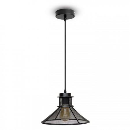Závesná lampa pletivo kužeľ