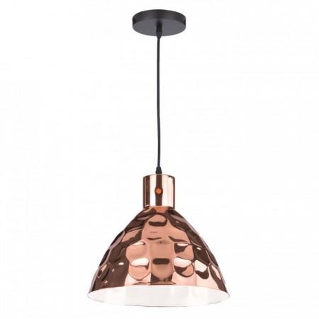 Medená závesná lampa