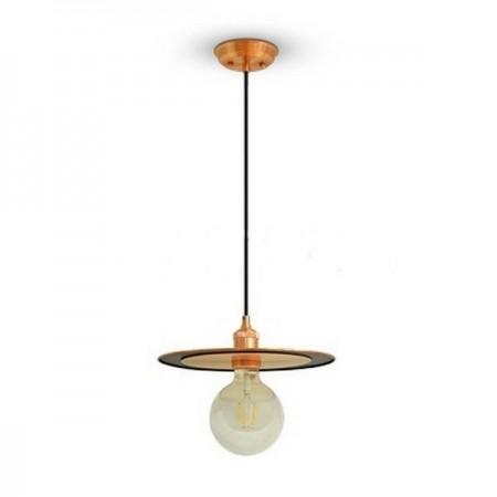 UFO medená závesná lampa