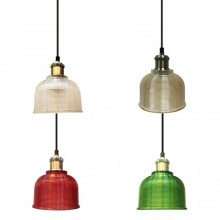 Závesná lampa (4 farby)