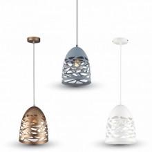 Závesná lampa hniezdo (3 farby)