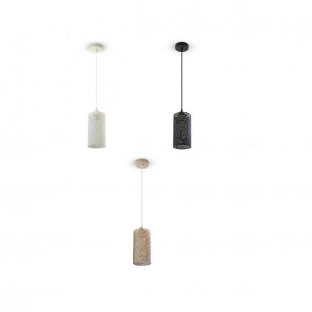 Závesná lampa pletivo (3 farby)