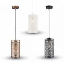 Závesná lampa valec (3 farby)