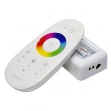 Dotykový LED diaľkový RF ovládač RGB+W 12V/24V