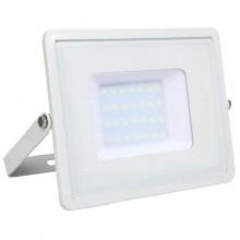 Profesionálny biely LED reflektor 30W so SAMSUNG chipmi