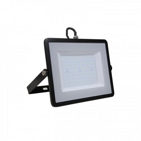Profesionálny čierny LED reflektor 100W so SAMSUNG chipmi
