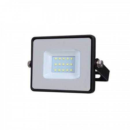 Profesionálny čierny LED reflektor 10W so SAMSUNG chipmi