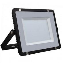 Profesionálny čierny LED reflektor 200W so SAMSUNG chipmi