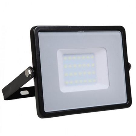 Profesionálny čierny LED reflektor 50W so SAMSUNG chipmi