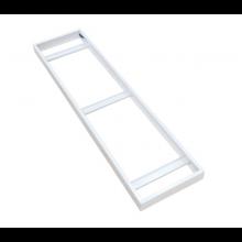 Rám pre povrchovú montáž LED panelov 120x30cm