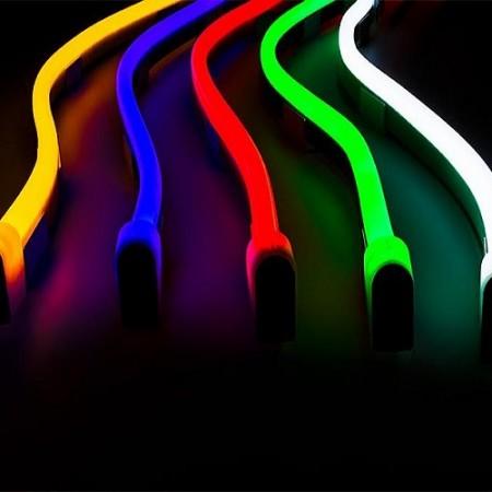 Neon flex LED pás 3528 120 SMD/m 230V
