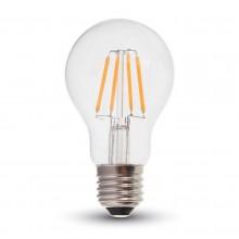 Profesionálna LED filament žiarovka E27 A60 6W so SAMSUNG čipmi