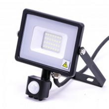 Profesionálny LED reflektor 20W s pohybovým senzorom so SAMSUNG čipmi