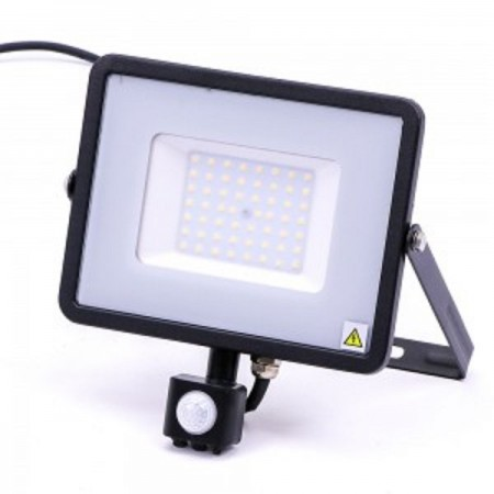 Profesionálny LED reflektor 50W s pohybovým senzorom so SAMSUNG čipmi