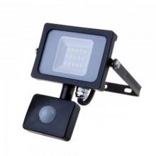 Profesionálny LED reflektor 10W s pohybovým senzorom so SAMSUNG čipmi