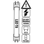 Označenie svietidiel T8