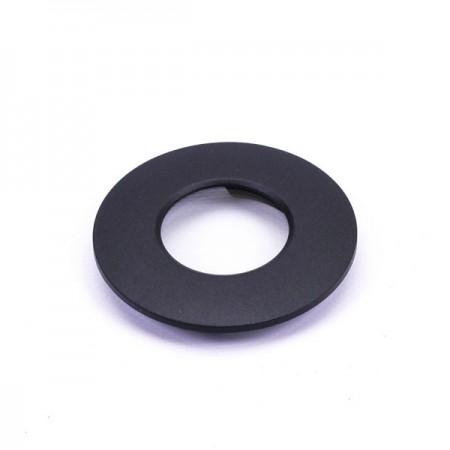 Čierny vymeniteľný rámik na zapustené LED svietidlo