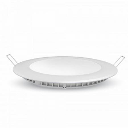 Profesionálny okrúhly zapustený LED panel 12W so SAMSUNG čipmi