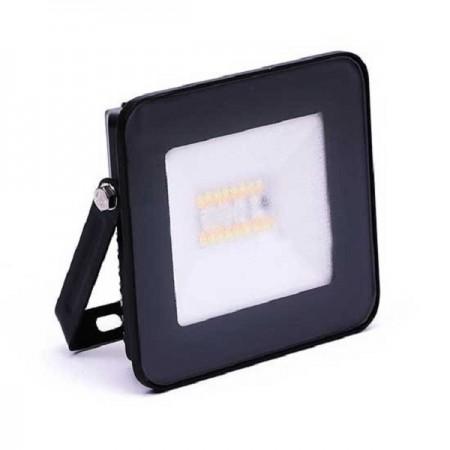 Čierny smart RGB+W LED reflektor 20W