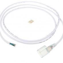 Napájací kábel na neon flex RGB LED pás 230V 2m