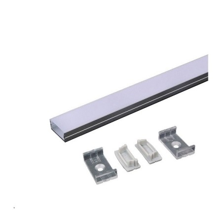Hliníkový profil na 2 LED pásy MICRO ALU 2m súprava