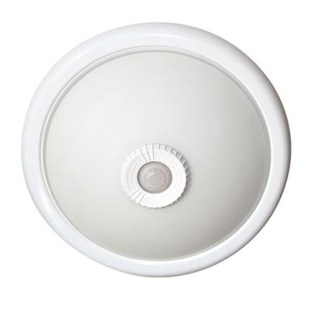 Stropnica s PIR senzorom na 2ks E27 LED žiaroviek IP20