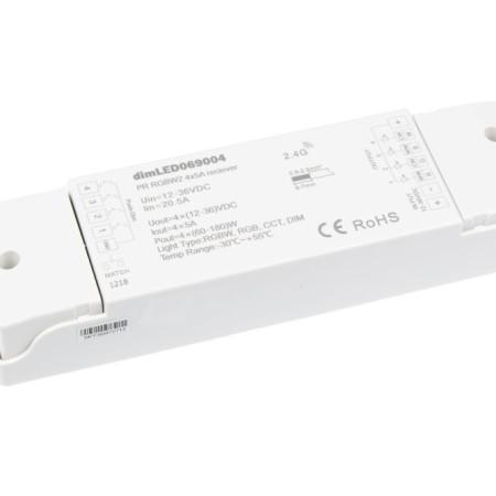 Prijímač k RF ovládaču pre RGB+W LED pás