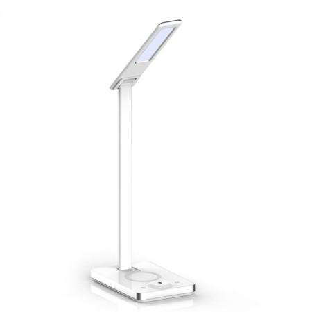 Biela stmievateľná stolová LED lampa 5W