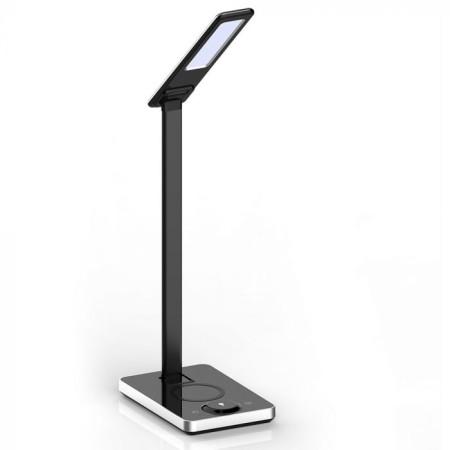 Čierna stmievateľná stolová LED lampa 5W