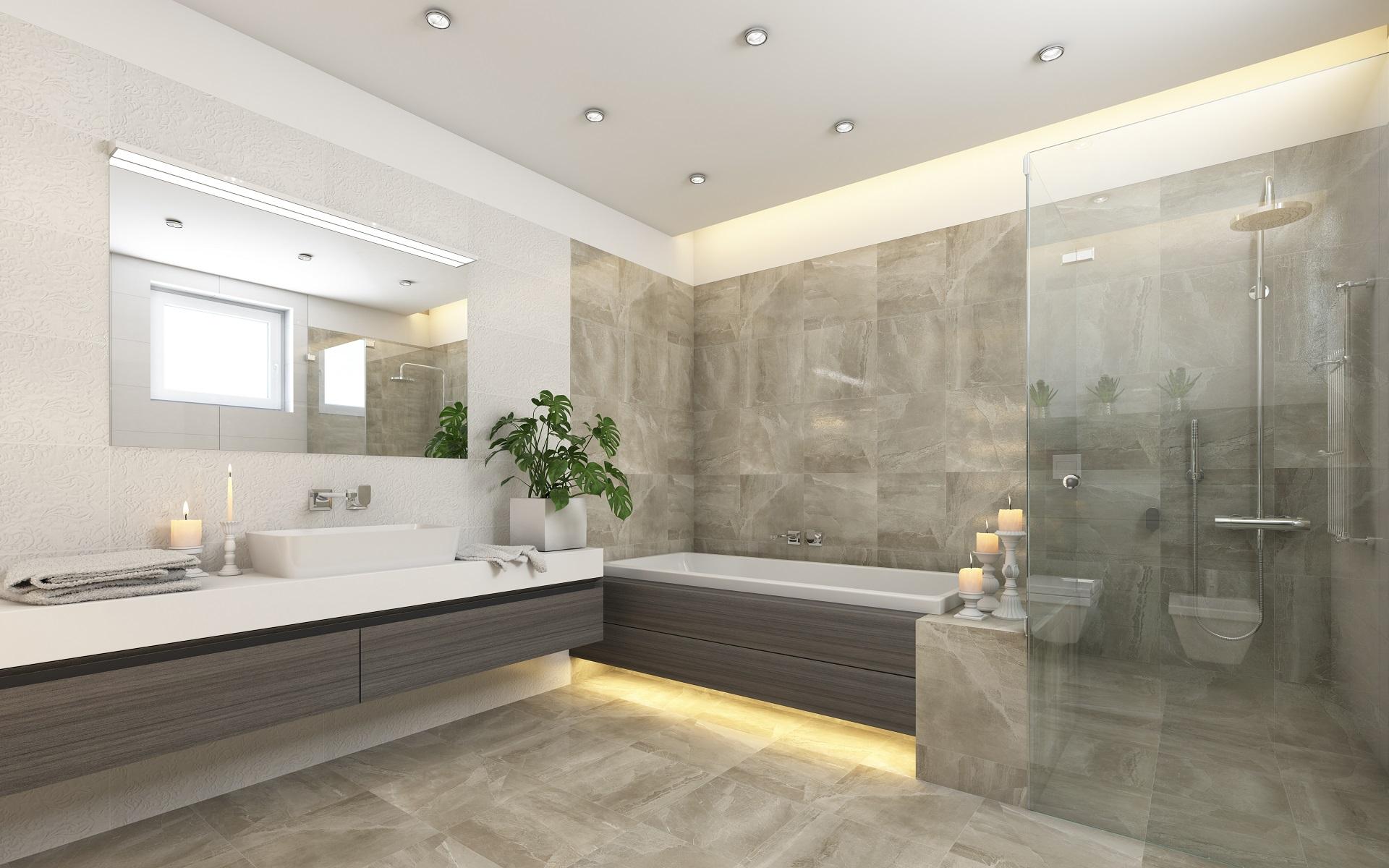 Osvetlenie kúpeľne