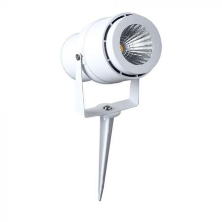 Zapichovacia biela záhradná LED lampa 12W