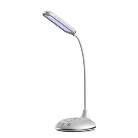 Biela stmievateľná stolová LED lampa 4W