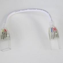 Spojka s káblom na neon flex RGB LED pás 230V
