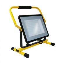 Profesionálny prenosný LED reflektor 100W so stojanom so SAMSUNG čipmi