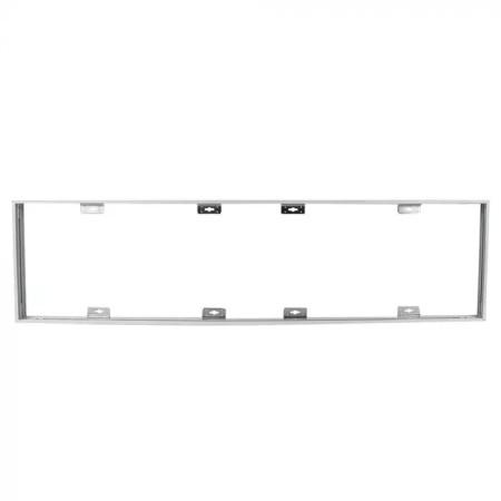 Skladací rám pre povrchovú montáž LED panelov 120x30cm