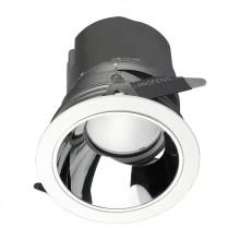 Zapustené okrúhle LED svietidlo 15W 0-27° CRI95